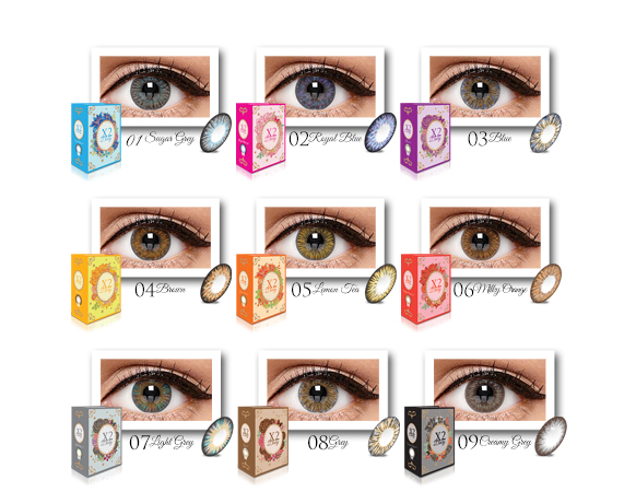Free Contact Lens Trial >> X2 Softlens | X2 Diary