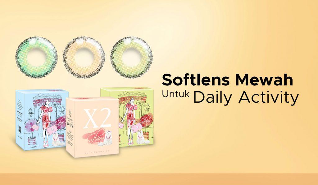 Softlens Mewah Untuk Daily Activity